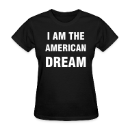 T-Shirts ~ Women's T-Shirt ~ I AM THE AMERICAN DREAM Britney Costumes