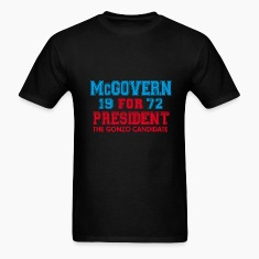 Black McGovern Gonzo Hunter T-Shirts