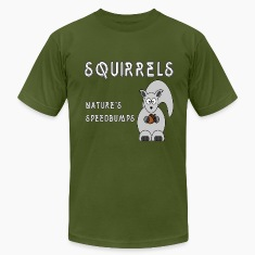Olive squirrels T-Shirts