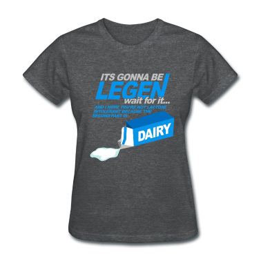 Deep heather How Met Mother Legendary Dairy Women's T-Shirts