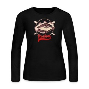 Old Fenway Women's Long Sleeve Jersey Tee - Women's Long Sleeve Jersey T-Shirt