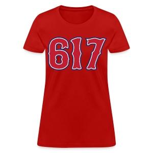 Boston 617 Sox Style Women's Standard Weight T-Shirt - Women's T-Shirt