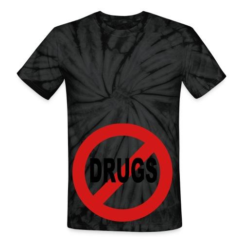 Anti-Drug Tye Dye Shirt - Unisex Tie Dye T-Shirt