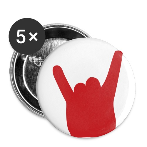 Rocker Big Badge - Large Buttons