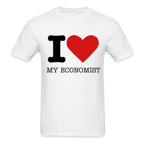 I love my economist! - Men's T-Shirt