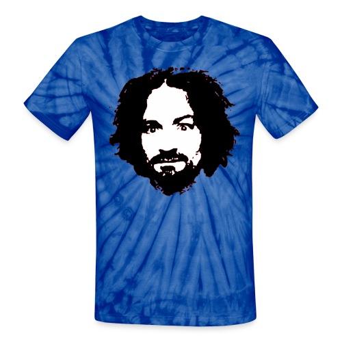 Charlie Manson Tie Dye T-shirt - Unisex Tie Dye T-Shirt