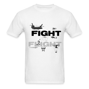 fight or flight  - Men's T-Shirt