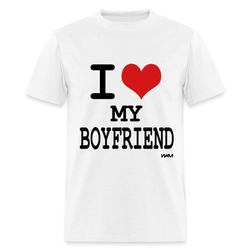 I <3 My BoyFriend - Men's T-Shirt