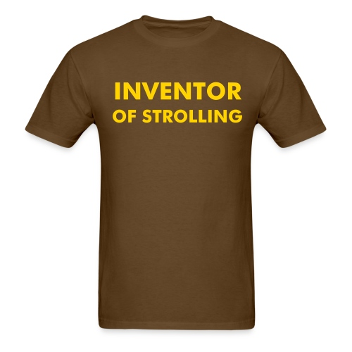 Invented Strolling (color changeable) shirt - Men's T-Shirt