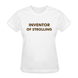 Invented Strolling (color changeable) shirt - Women's T-Shirt