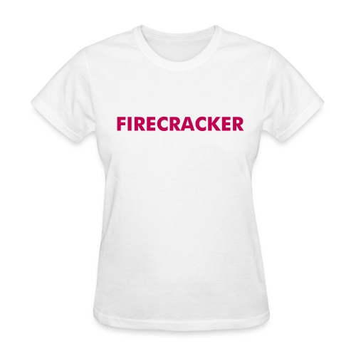 Firecracker Shirt Stroller (color changeable) shirt - Women's T-Shirt