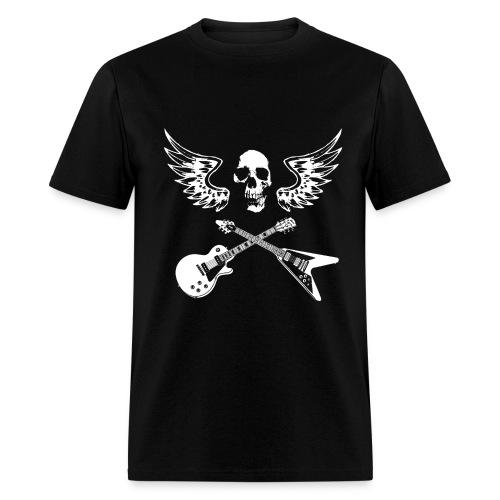 Music Skull - Men's T-Shirt
