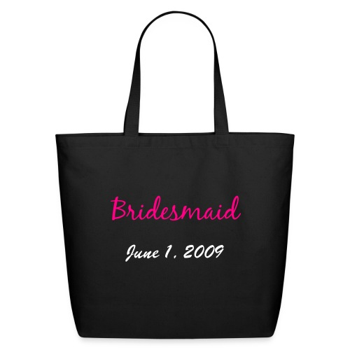 'Personalized Bridesmaid' Eco-Friendly Tote - Eco-Friendly Cotton Tote