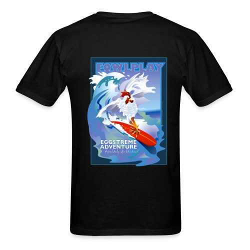 Eggstreme Adventure - Men's T-Shirt