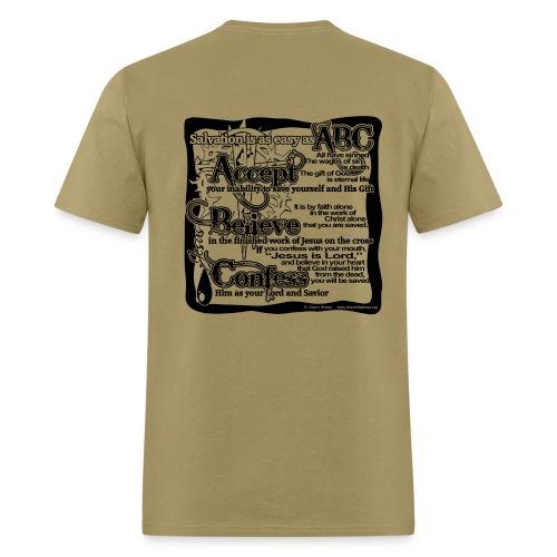 Men'S ABC  T   - Men's T-Shirt