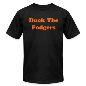 Duck The Fodgers - Men's Fine Jersey T-Shirt