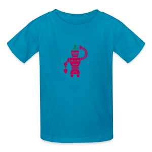 GrowBot [Magenta on Pink] - Kids' T-Shirt