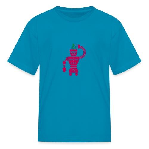 GrowBot [Magenta on Pink] - Kids' T-Shirt