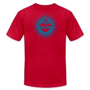 Sacred Heart - Men's Fine Jersey T-Shirt