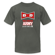 T-Shirts ~ Men's T-Shirt by American Apparel ~ Dragonball: Red Ribbon Army