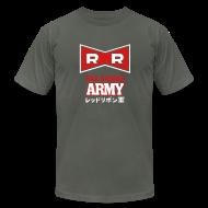 T-Shirts ~ Men's T-Shirt by American Apparel ~ Dragonball: Red Ribbon Army