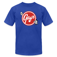T-Shirts ~ Men's T-Shirt by American Apparel ~ Gays