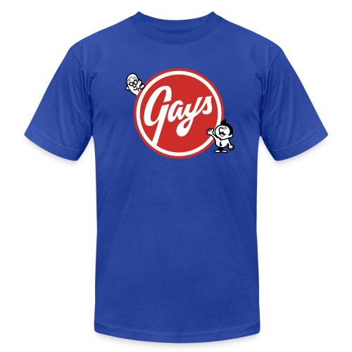Gays - Men's Fine Jersey T-Shirt