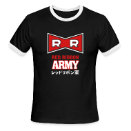 T-Shirts ~ Men's Ringer T-Shirt ~ Dragonball: Red Ribbon Army