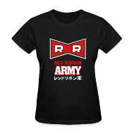 Women's T-Shirts ~ Women's T-Shirt ~ Dragonball: Red Ribbon Army