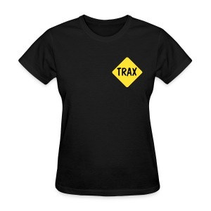 Women's Black Trax Softball shirt - Women's T-Shirt