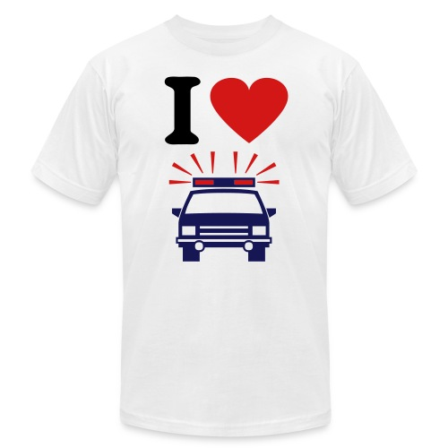 I love  - Men's Fine Jersey T-Shirt