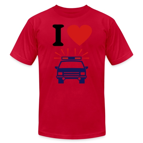 I love  - Men's  Jersey T-Shirt