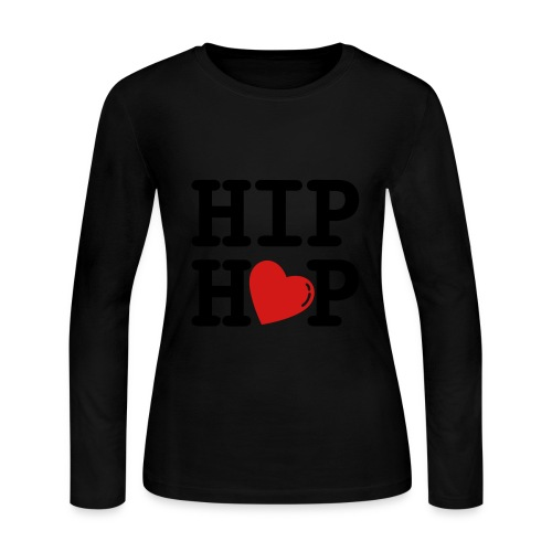 Hip Hop - Women's Long Sleeve Jersey T-Shirt