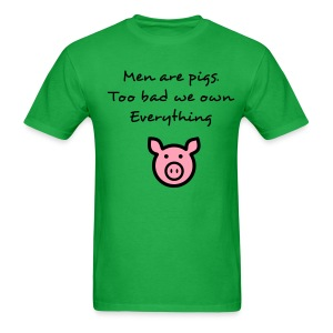 Men are pigs - Men's T-Shirt