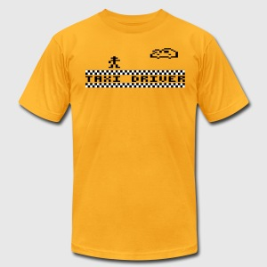 Gold Taxidriver T-Shirts - Men's T-Shirt by American Apparel