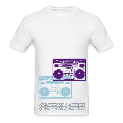 Ghettoblaster Tee - Men's T-Shirt