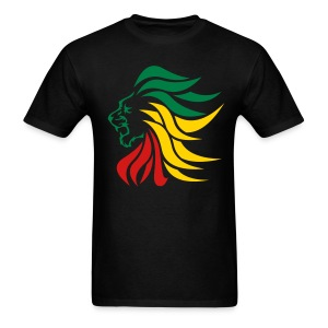 Lion_Rastafarian-Men - Men's T-Shirt