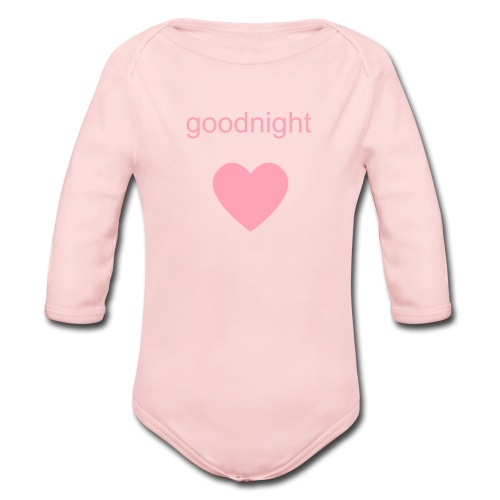 t shirt 1 - Organic Long Sleeve Baby Bodysuit