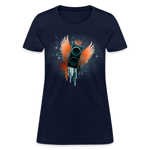 Women's Flying Speaker T - Women's T-Shirt