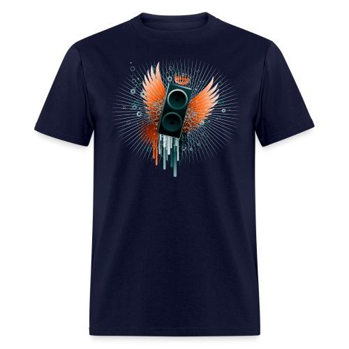 Men's Flying Speaker T - Men's T-Shirt