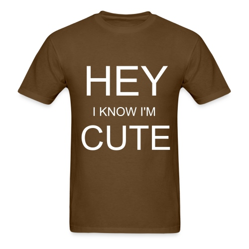 hottie - Men's T-Shirt