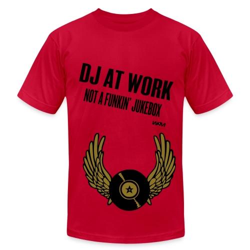 DJ T - Men's Fine Jersey T-Shirt