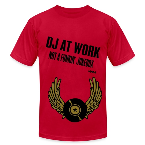 DJ T - Men's  Jersey T-Shirt