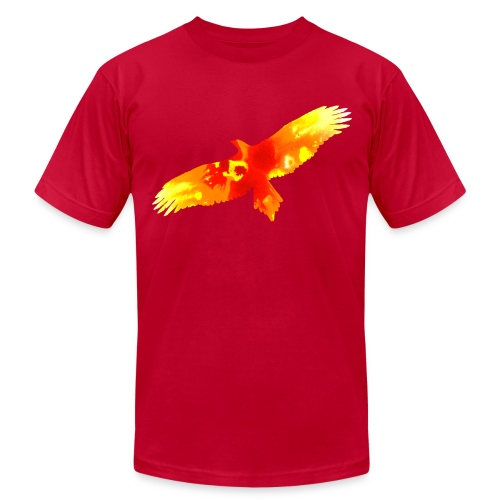 bird - Men's Fine Jersey T-Shirt