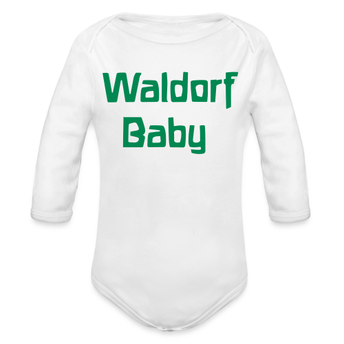 Waldorf Baby Long Sleeve - Organic Long Sleeve Baby Bodysuit