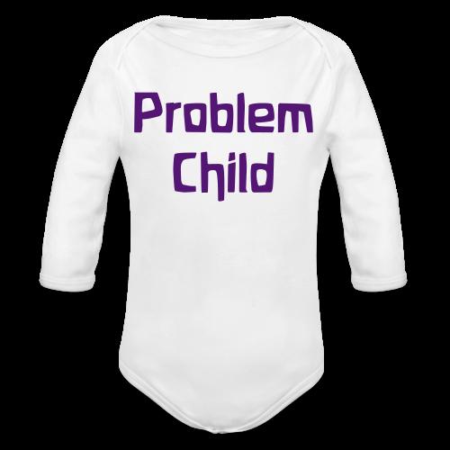 Problem Child Long Sleeve - Organic Long Sleeve Baby Bodysuit