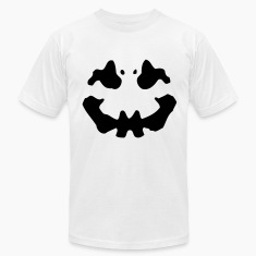 White Inkblot T-Shirts