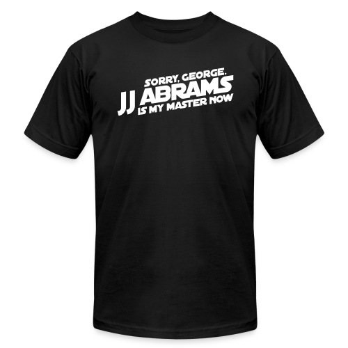 J.J. Abrams is my Master now - Men's  Jersey T-Shirt