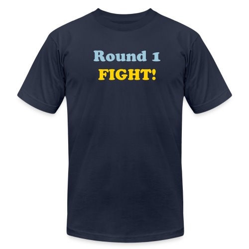 Round 1 Fight T-Shirt - Men's Fine Jersey T-Shirt
