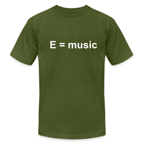 emusic - Men's Fine Jersey T-Shirt